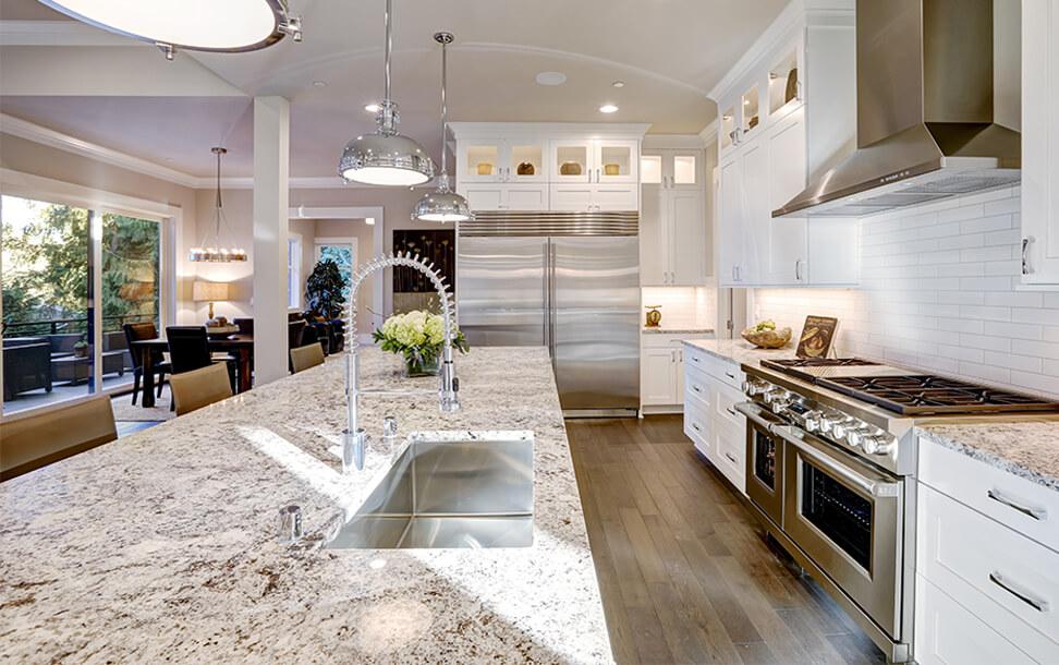 Woodcraft Designs White Kitchen