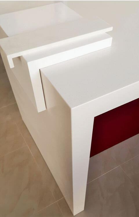 acrylic benchtops